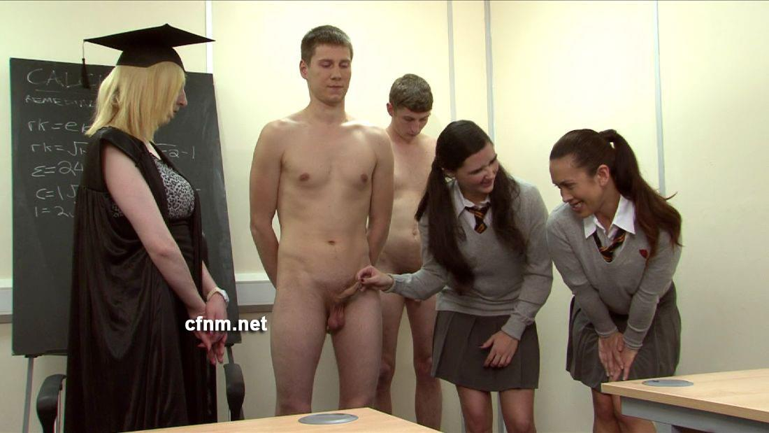 Biology class gets so practical with a horny chubby mom - 1 part 10