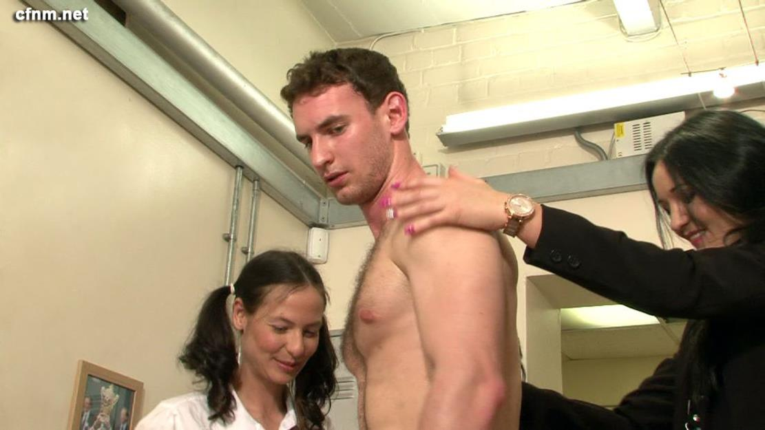 Straight adult male physical exam films 2