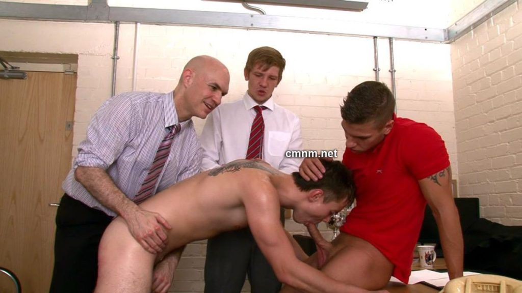 Straight young male sucking dick gay 4