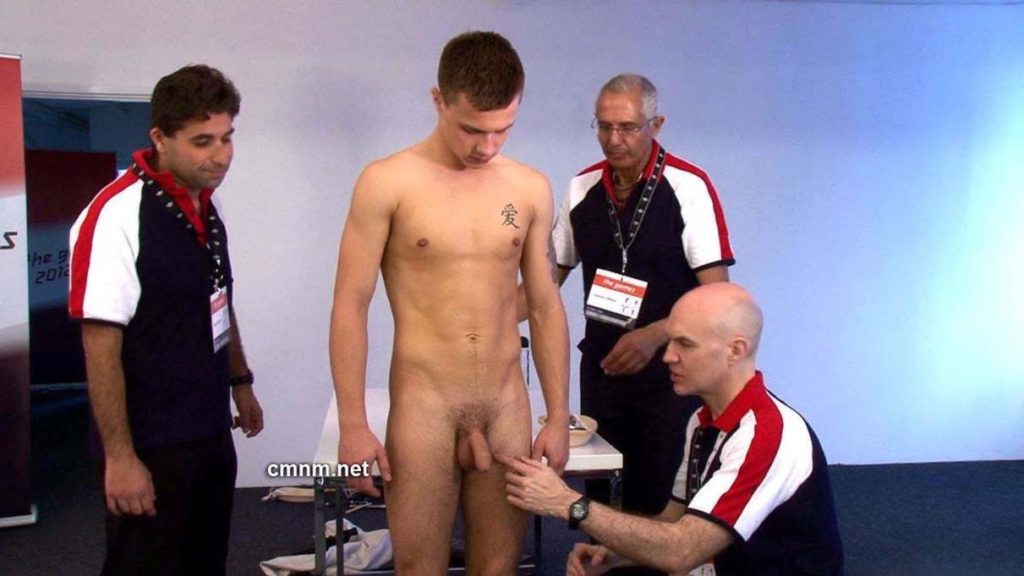 STRAIGHT WORKER GAY PHYSICAL EXAMINATION