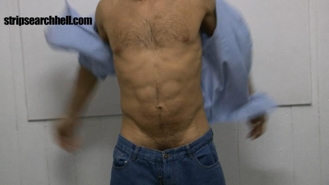 StripSearchHell – Muscled Bad Lad Strip Searched