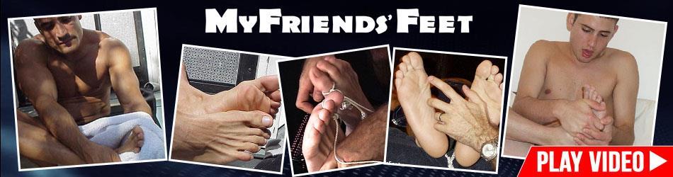 MyFriendsFeet - KC's Sweaty Feet in Flips MyFriendsFeet