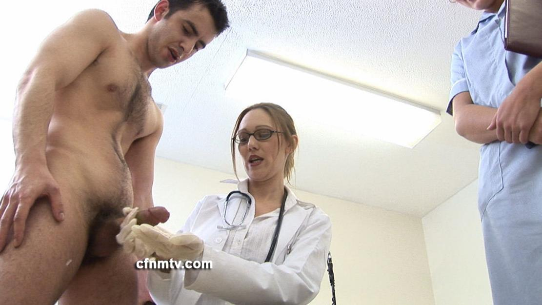 Naked young men examined by doctor gay i drained off justin as his