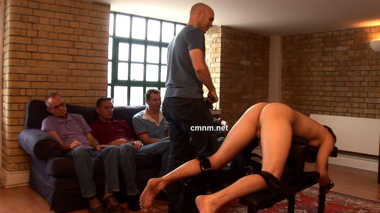 CMNM – Businessman Mike Tied Down & Spanked