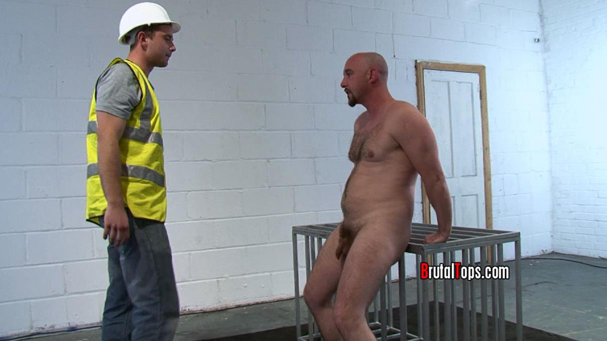 BrutalTops – Master Mike & Master Darren – SUCK HIS DICK AS I FUCK YOUR STINKING ARSEHOLE