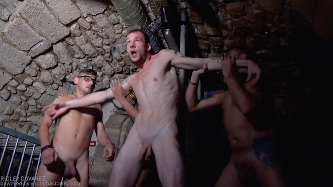 YoungBastards – Orgy and sperm bath brings the ghost back – Nick Spears, Iago Torres, Will Wood, Guillaume Wayne