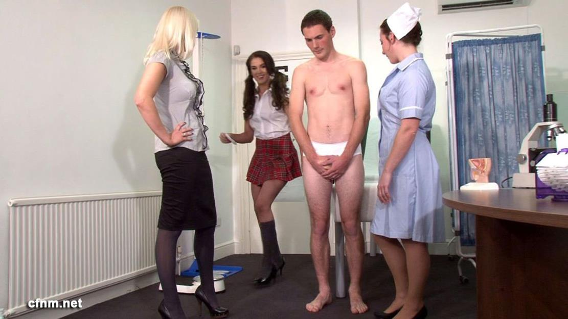 CFNM – Jack Stripped Down To His White Skivvies