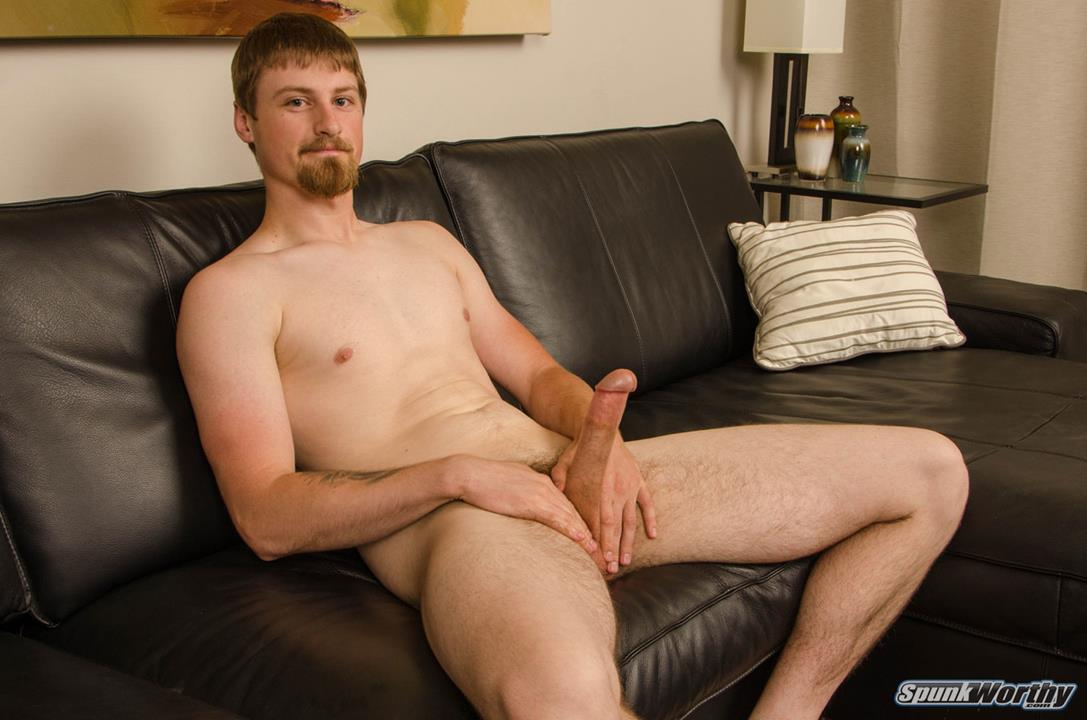 SpunkWorthy – Tall, lean former Sailor unleashes a massive load from his 8-incher – Sutter