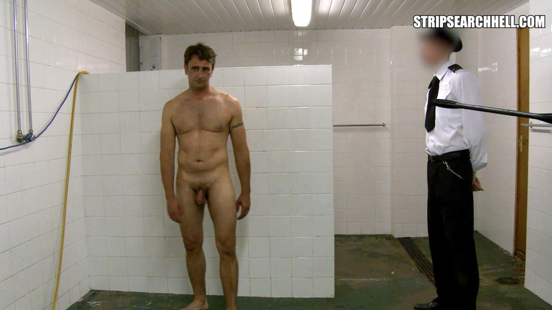 StripSearchHell – Inmate Gets A Hosing Down In The Showers