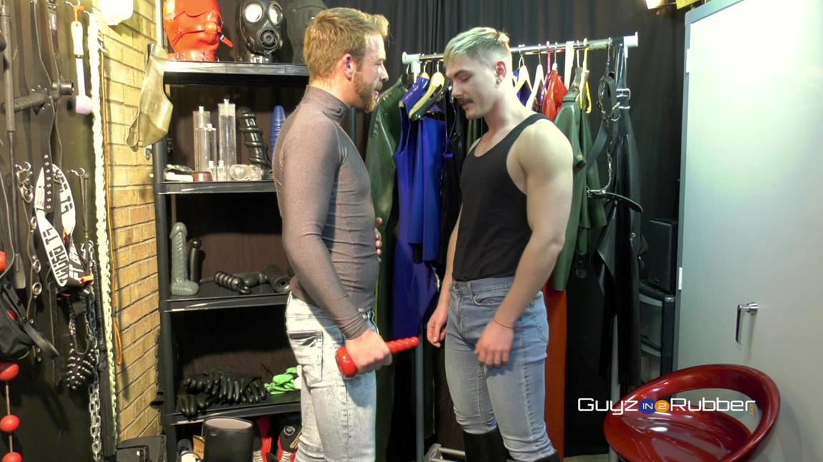 GuyzIn2Rubber – Try Before You Buy – Austin Sugar & Gabriel Phoenix