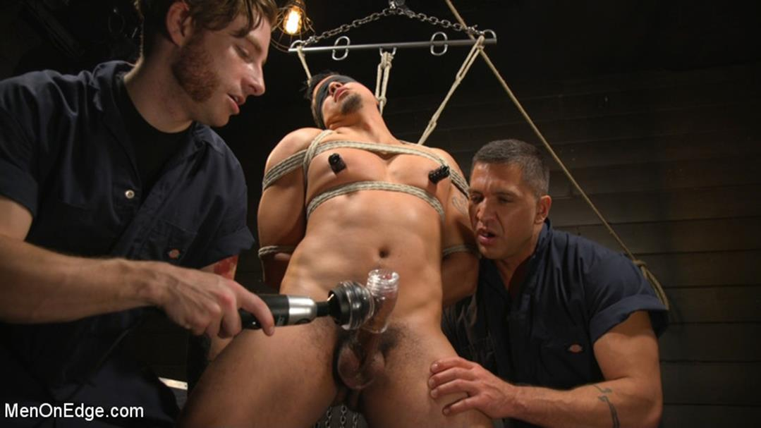 MenOnEdge – …But Your Dick Says Yes: Tony Prower Edged In Full Suspension