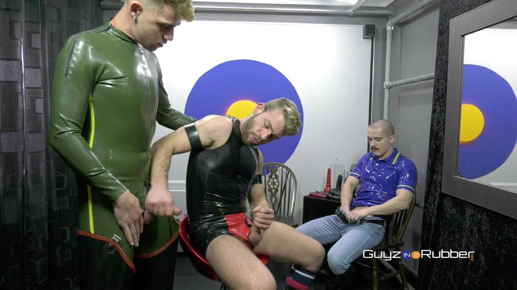 GuyzIn2Rubber – Cut And Blow – Austin Sugar, Gabriel Phoenix & James Bennett