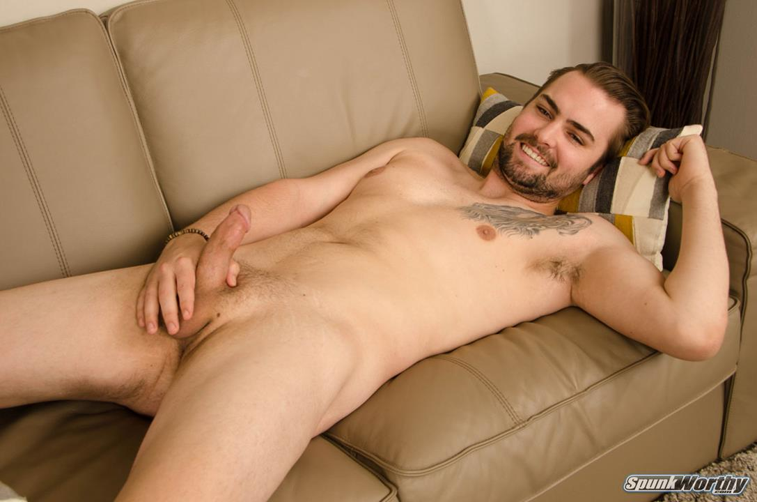 """SpunkWorthy – Newcomer Dennis got more than he bargained for his """"solo"""" shoot"""