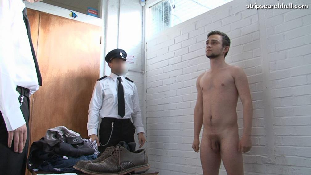 StripSearchHell – Fit Lad Ordered To Strip