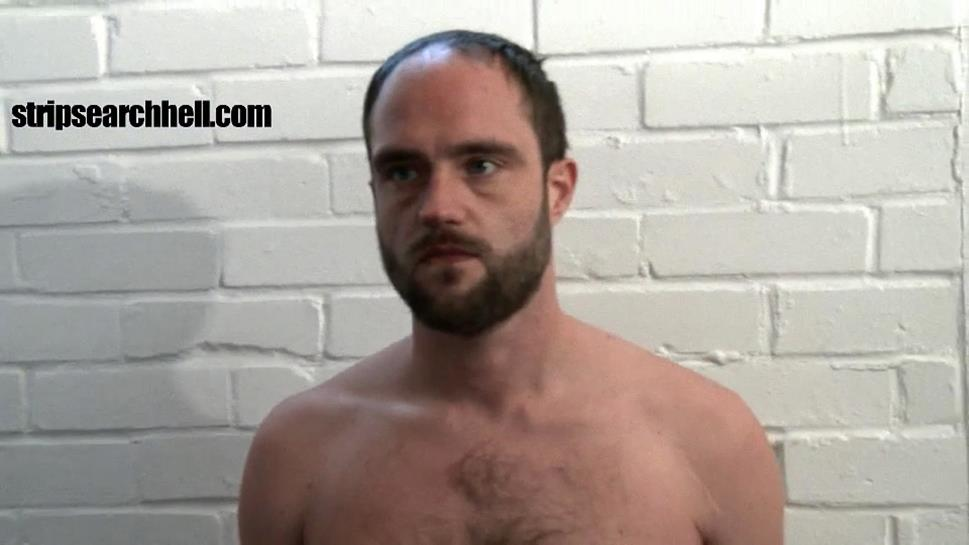 StripSearchHell – Bearded Lad Strip Searched