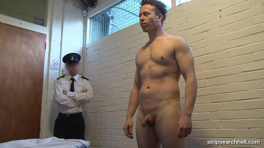 StripSearchHell – Muscle Guy Stripped Naked