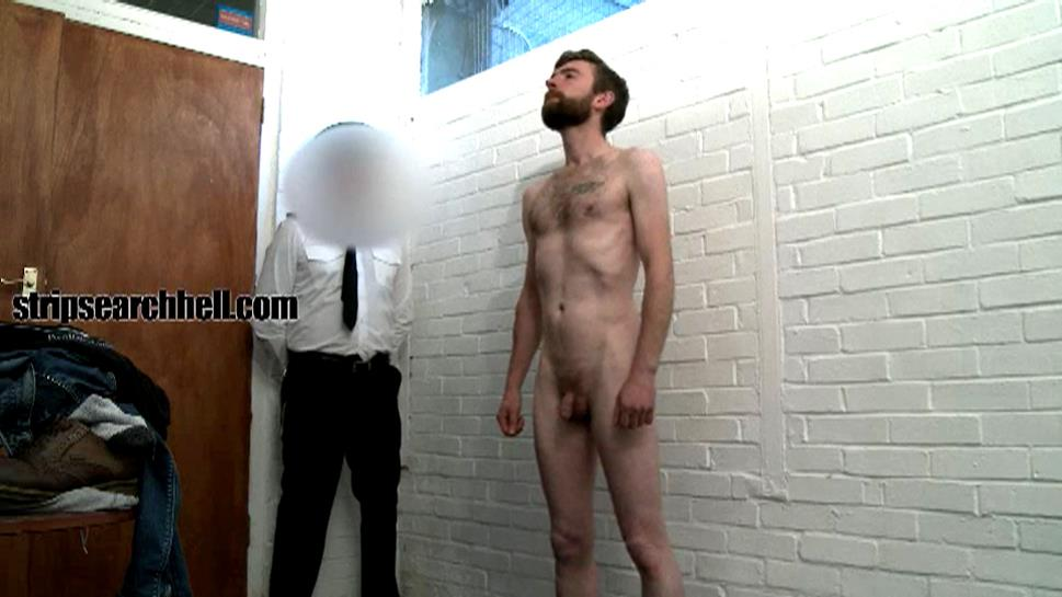 StripSearchHell – Hairy Bad Lad Strip Searched By The Officers