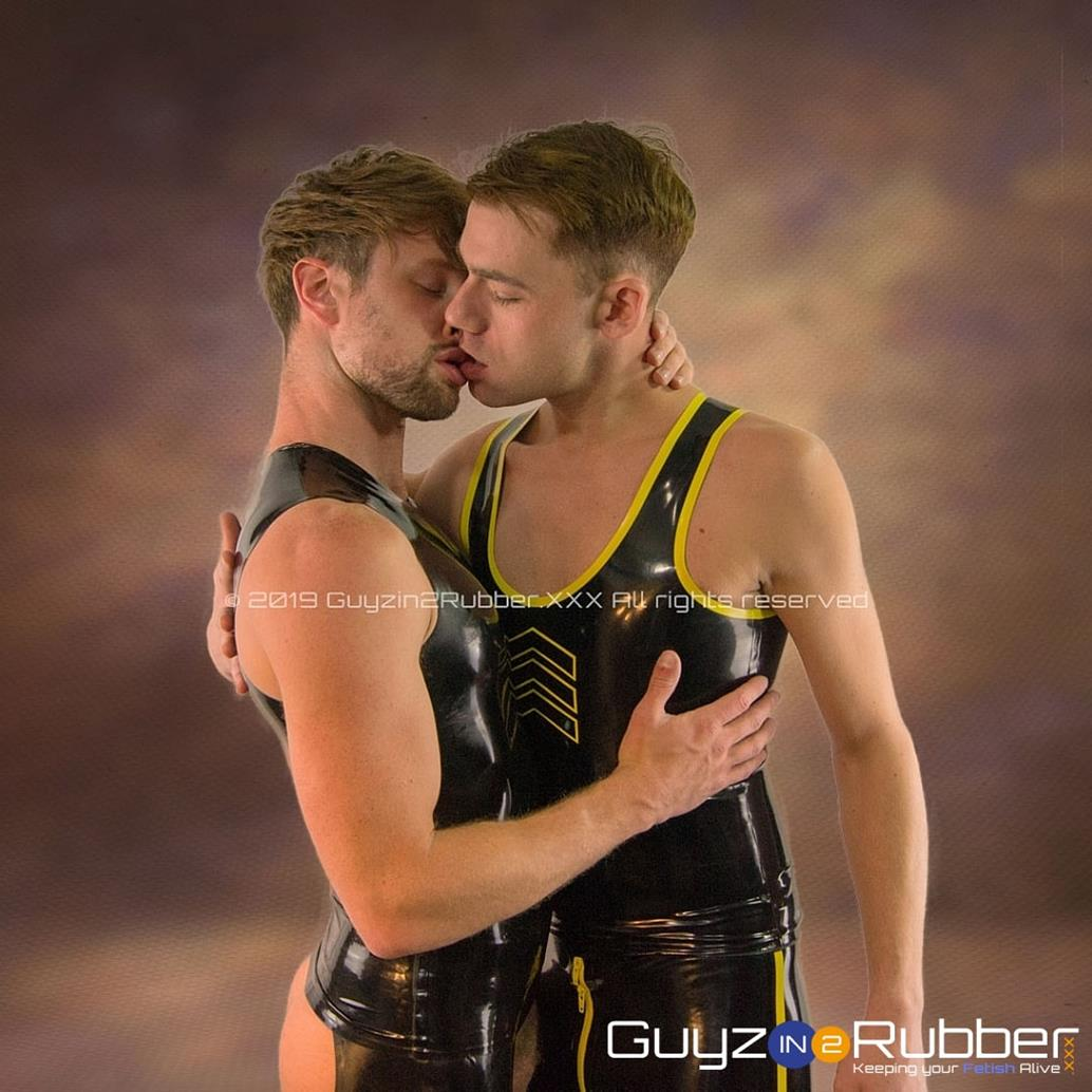 GuyzIn2Rubber – Rubber Pig Photos – Drew Dixon & James Bennett