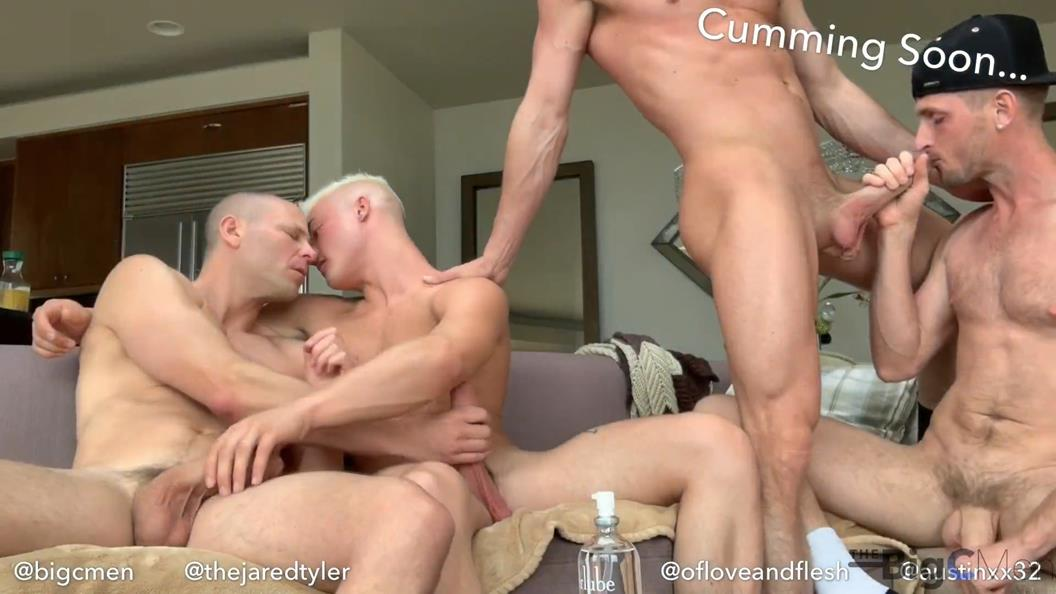 TheBigCMen – Sexy Boyfriends Austinxx32 & Ofloveandflesh Take Cory & Jared's Dick All Afternoon