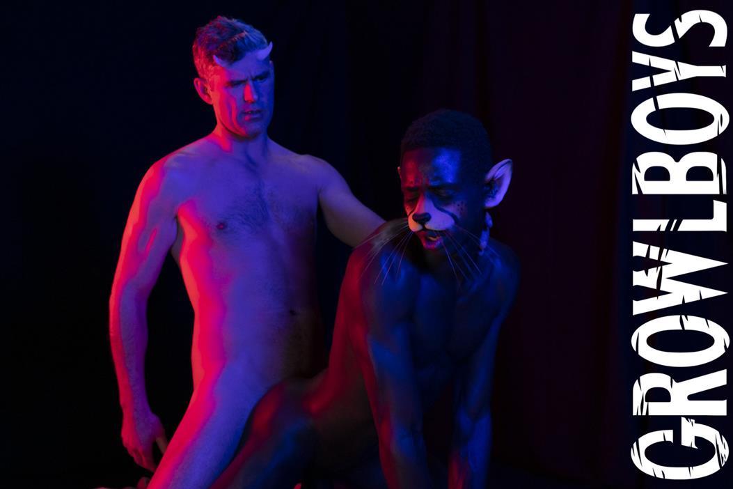 GrowlBoys – BigCat CHAPTER 3 – Sweet Release – Damien Oaks, Drake Magnum & Pierce Paris