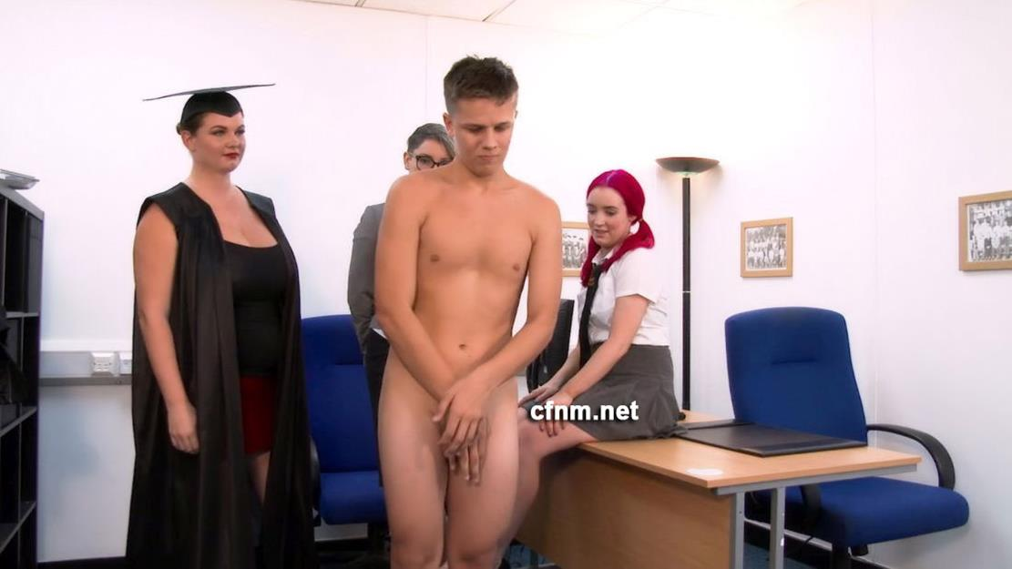 CFNM – Upskirting Schoolboy – Chris Gets Some Corporal Punishment