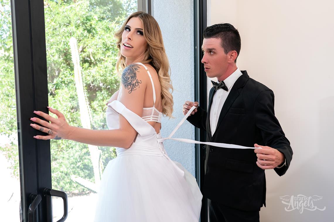 TransAngels – Ringing Her Wedding Bells Part 2 – Casey Kisses & Michael Stax