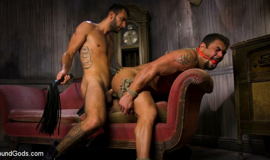BoundGods – Captured Criminal: Hard Working Stud Gags & Punishes Wanted Thief – Draven Navarro, Brian Adams