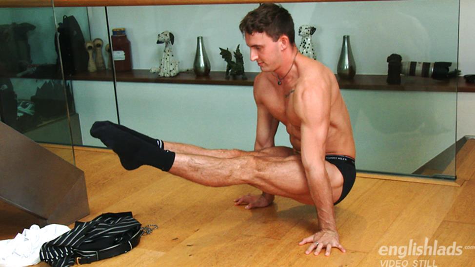 EnglishLads - Young Muscular Gymnastic Carter Lewis EnglishLads