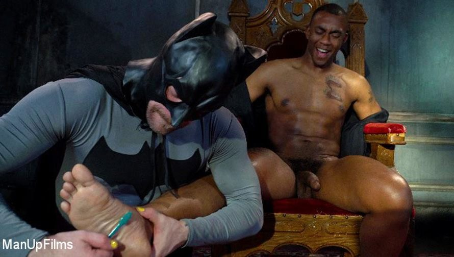 KinkMen – Batman Tickles Dirty Cops – Mike Panic, Buck Wright