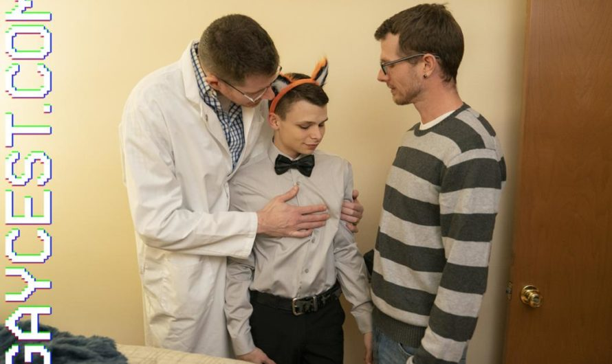 GayCest – DADDY'S LITTLE BOY – Tape 5 Mr. Armstrong & His Boy Austin – Trick or Treat