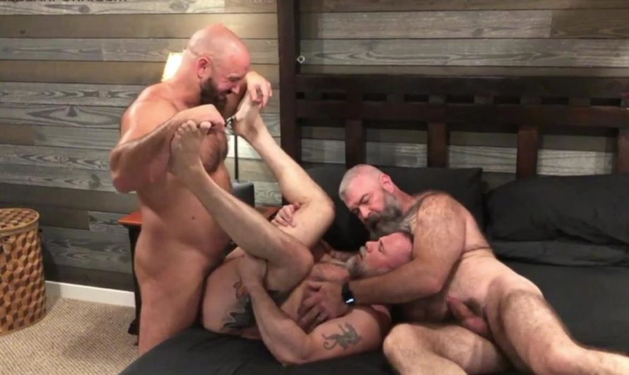 MuscleBearPorn – Uncle Cock – Liam Angell, Will Angell, Troy Webb