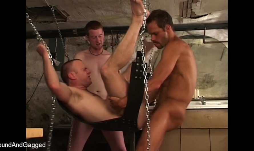 KinkMen – The Birthday Party – Michael Brandon, Logan Knight, Robert Gunn