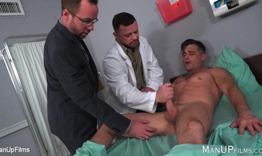 KinkMen – Dr Sgt Miles VS Alex Hawk – Lance Hart, Alex Hawk, Sergeant Miles