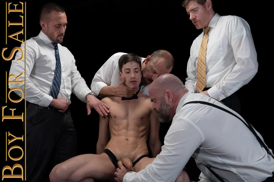 BoyForSale - BOYS AUSTIN, DANNY, JAY & COLE - Group Auction Orgy BoyForSale.com
