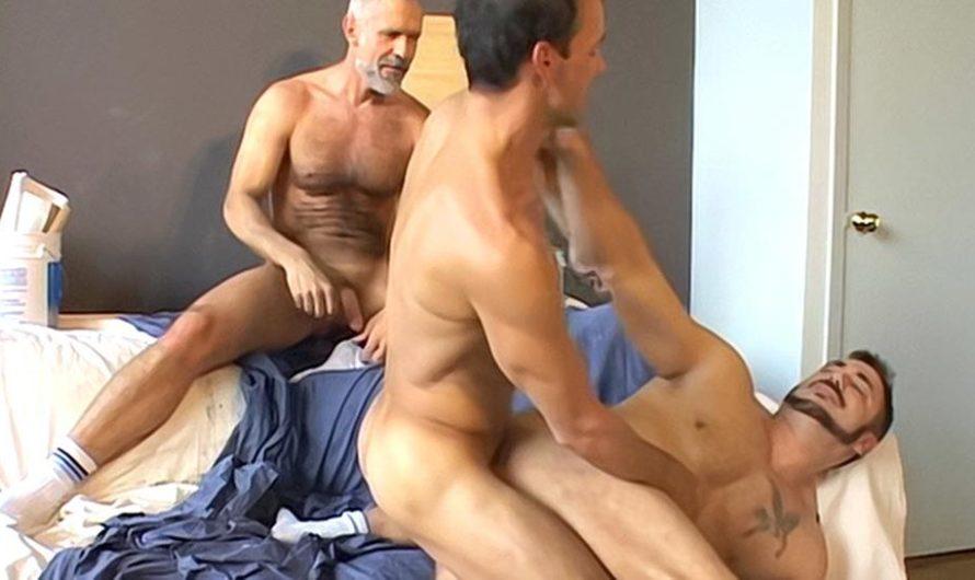 DaddySexFiles – Blue Collar Cock Lust Buddies – Allen Silver, Mick Powers, Rodney Steele