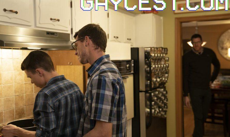 GayCest – Mr. Armstrong & His Boy Austin – Thanksgiving Family Fun