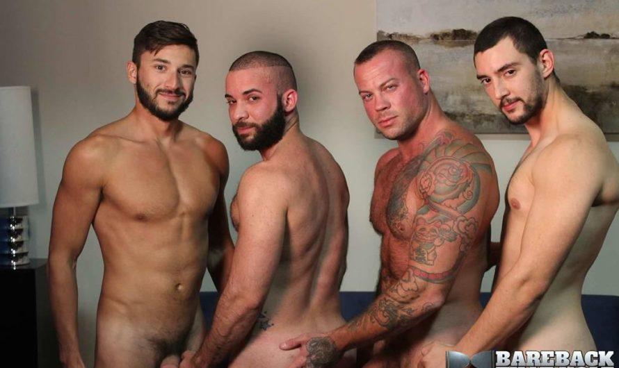 BarebackThatHole – Sean Duran, Scott DeMarco, Chase Klein, Fernando Del Rio