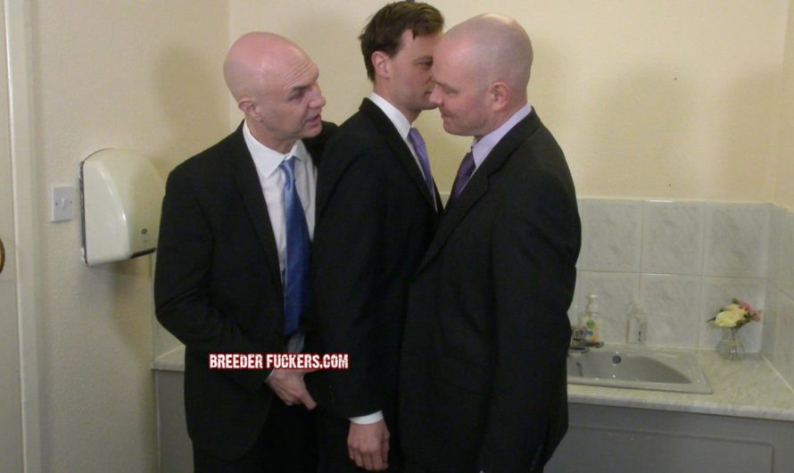 BreederFuckers – Suited Lad Joe Stripped & Fucked In The Toilets