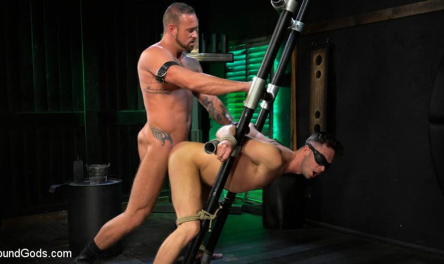 BoundGods – I Dream of Leather: Damon Heart Submits to Leather God Michael Roman