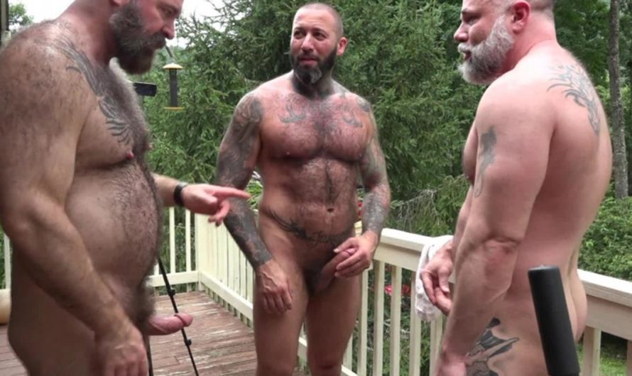 MuscleBearPorn – Serb Cock – Alexander Kristov, Liam Angell, Will Angell