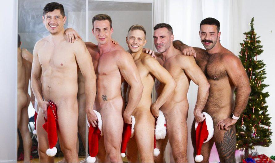 Masqulin – Live For Christmas – Ace Quinn, Ethan Chase, Manuel Skye, Rocky Vallarta, Teddy Torres