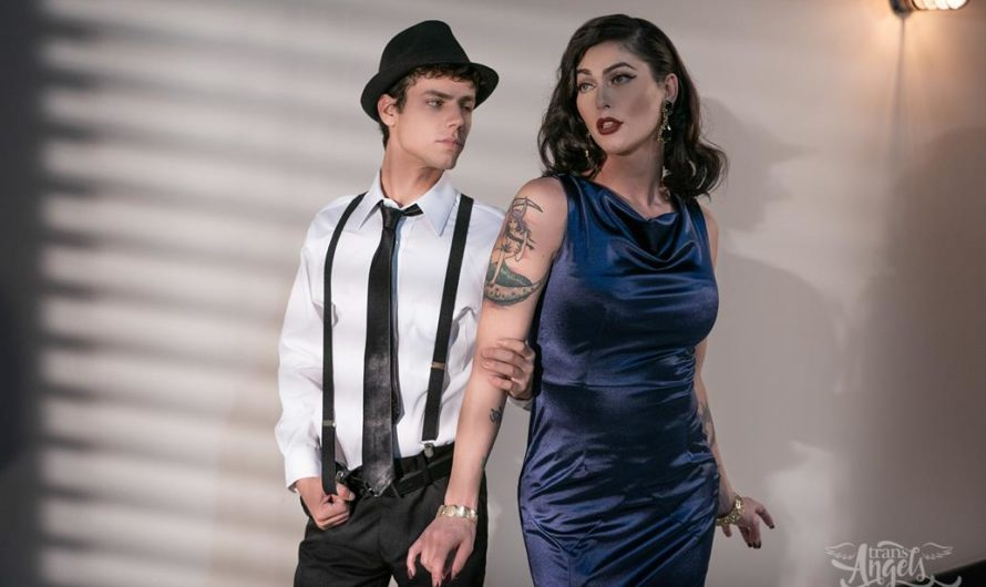 TransAngels – The Detective and The Dame – Domino Presley, Kaleb Stryker