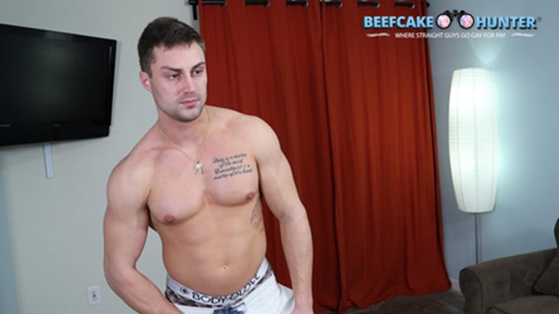 BeefCakeHunter – Brad first time fucking man-pussy
