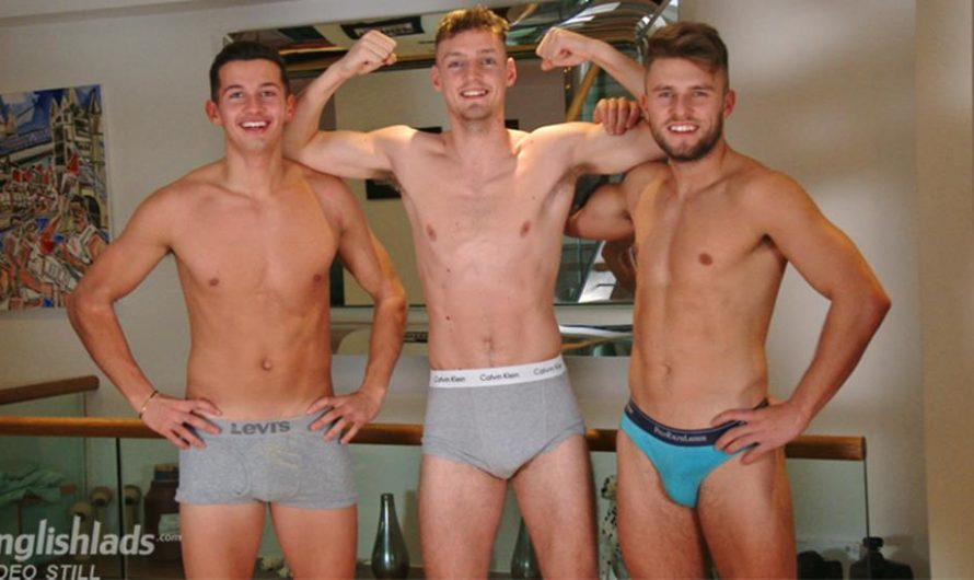 EnglishLads – Alfie Payne Gets A Little Help from his Friends!