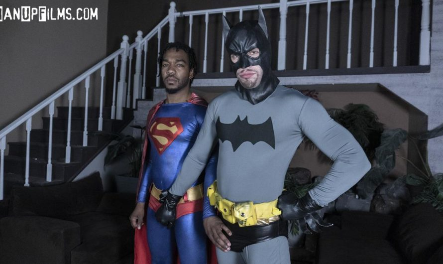 ManUpFilms – Batman Seduces Superman – John Johnson, Wolf Hudson