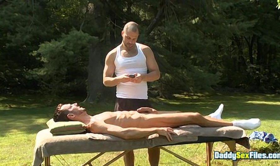 DaddySexFiles – Jock Daddys Deep Massage – Bryan Slater, David Chase