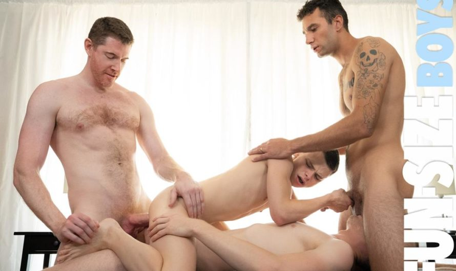 FunSizeBoys – Little Recruit's Orgy – Legrand Wolf, Cole Blue, Brian Adams, Austin L Young