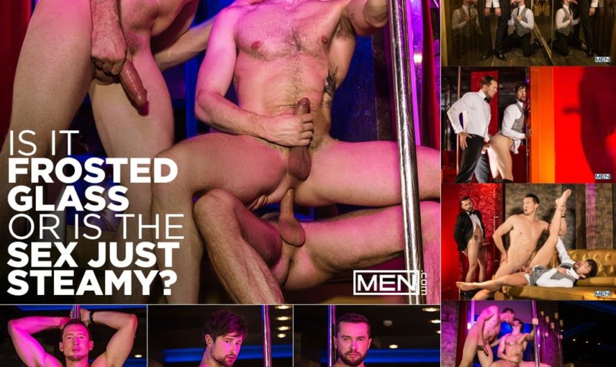MEN.com – Is It Frosted Glass or Is the Sex Just Steamy – Pierce Paris, Drew Dixon, Tyler Berg