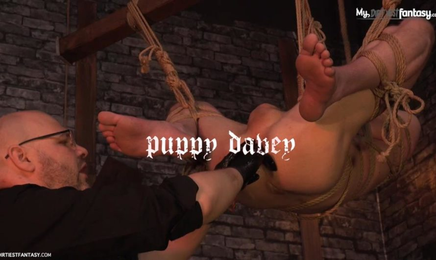 MyDirtiestFantasy – Suspended – Puppy Davey & The Puppeteer