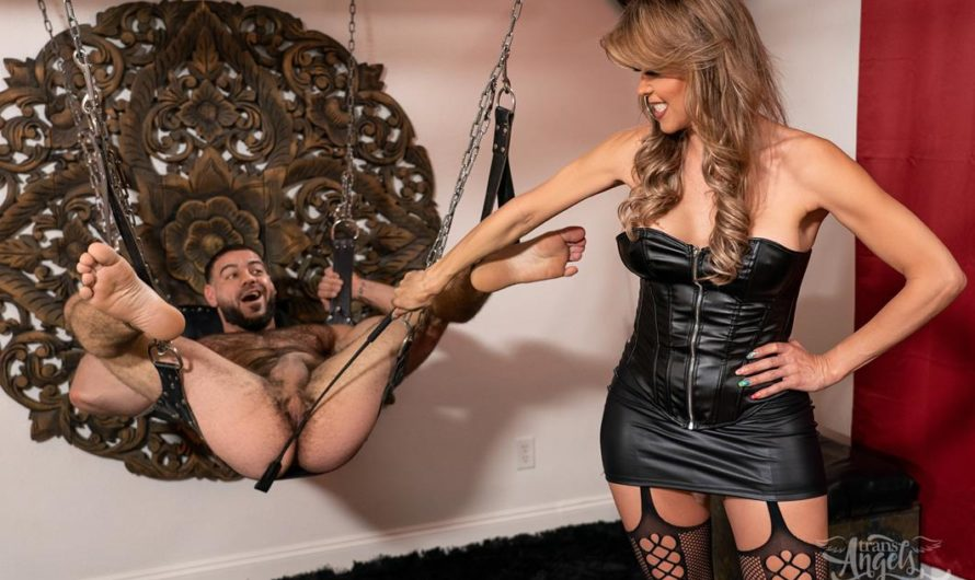 TransAngels – A Luncheon With Daughter, A Dungeon With Mother – Johanna Bardin, Charlotte Sins, Ricky Larkin